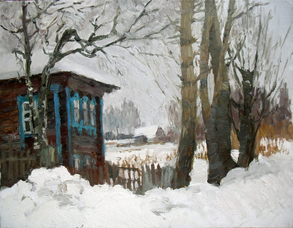 Пейзаж - Зима в Мышкине