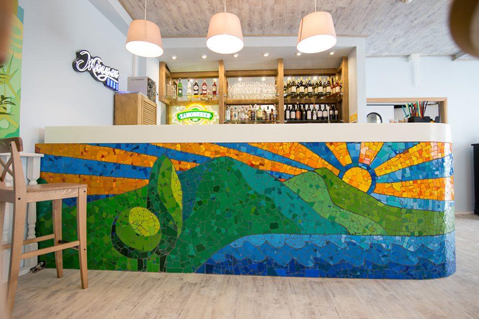 Интерьер - Гагра-бар. Мозаика