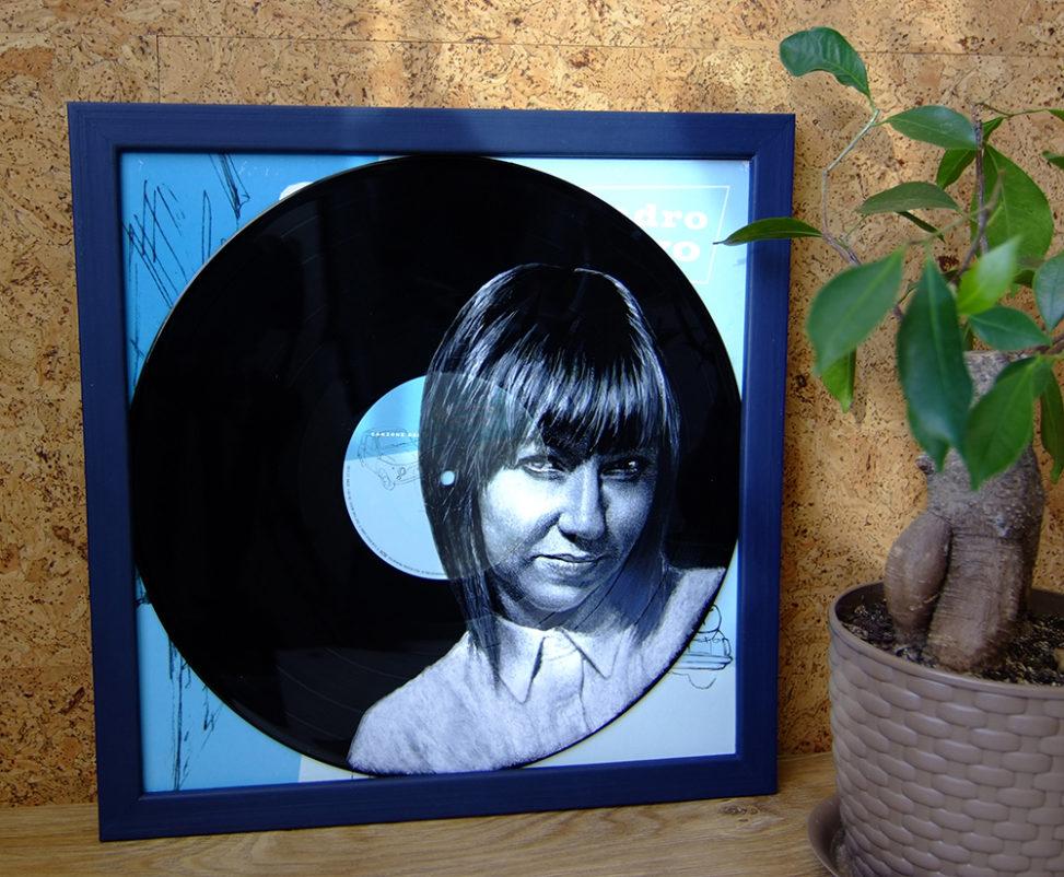 Портреты на пластинках